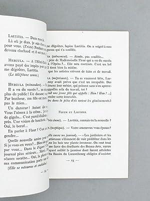 Le Jardin d'Hercula. Pièce en un acte de Pierre Boudot. [ Livre dédicacé par l...