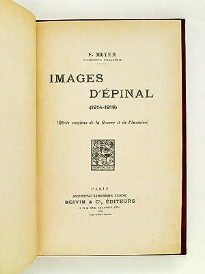 Images d'Epinal (1914-1918) Récits vosgiens de la Guerre et de l'Invasion.: MEYER,...