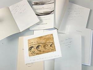 Lot de 6 livres, tous dédicacés par l'auteur ] Paisibles demeures - Illumin&...