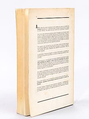 Planification et Société. Actes du colloque d'Uriage. Octobre 1973 [ Actes du ...