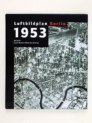 Über Berlin. Kartenmappe - Berlin von oben. Luftbildpläne, Ansichten, Ubersichtskarten ...