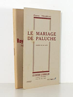 Lot de 2 pièces de théâtre ] Le mariage de Paluche , comédie en un acte ...