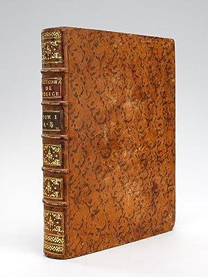 Dictionnaire Universel de Police (Tome Premier : A - B). Contenant l'Origine et les Progr&...