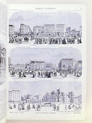 Tableau de Paris (2 Tomes - Complet) Ouvrage illustré de quinze cents gravures: TEXIER, ...