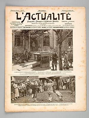 L'Actualité Française, Etrangère & Littéraire illustrée...
