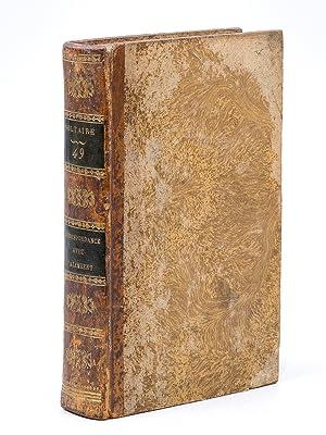 Correspondance avec M. d'Alembert ( Oeuvres complètes de Voltaire - Tome XLIX [ 49 ] ):...