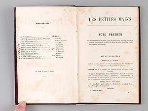 Les Petites Mains. Comédie en trois actes. [ Edition originale ]: LABICHE, Eugène ; MARTIN, ...