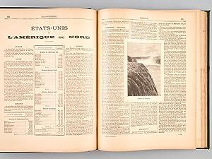 Atlas Universel. Nouvelle géographie illustrée des Cinq Parties du Monde. [ Texte ]: ...
