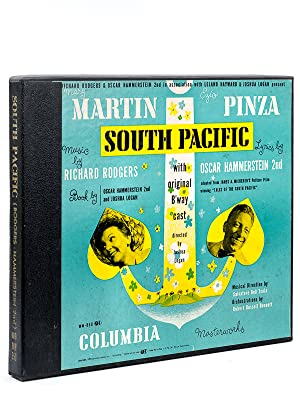 Mary Martin & Ezio Pinza South Pacific. With original B'way cast, directed by Joshua Logan, Music...