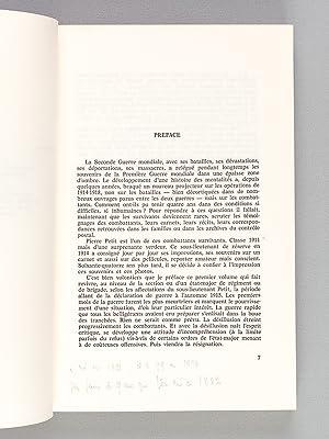 Souvenirs de Guerre 2 août 1914 - 15 octobre 1915: PETIT, Pierre