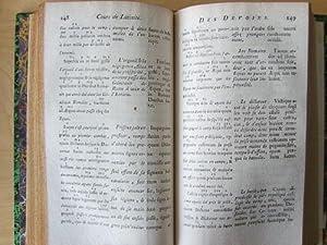 Cours de Latinité par M. Vanière en: VANIERE, M. ;