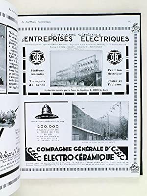 La Houille Blanche. L'électrification des chemins de fer du midi et l'essor &...