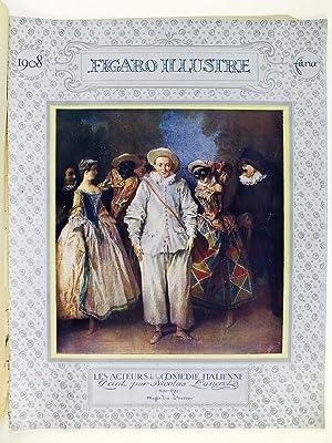 Figaro Illustré. N° 215 Février 1908 : Le Carnaval: Collectif