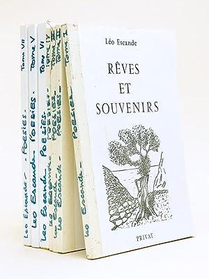 Rêves et Souvenirs (7 Tomes - Complet): ESCANDE, Léo