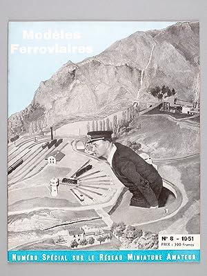 Modèles ferroviaires. Revue trimestrielle [ Lot de 10 numéros du n° 7 de 1951 au ...