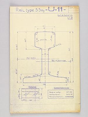 Document technique à l'échelle 1/1 : Description de divers modèles ...