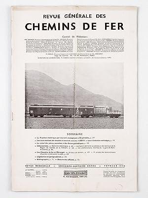 Revue Générale des Chemins de Fer. (Année 1948 - Soixante-Septième Ann&...