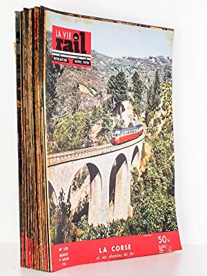 La Vie du Rail - Notre Métier, Notre Foyer, Année 1956 , Premier Semestre (complet - ...