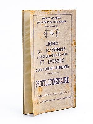 Profil itinéraire. Région du Sud-Ouest. 36 Ligne Bayonne à ...