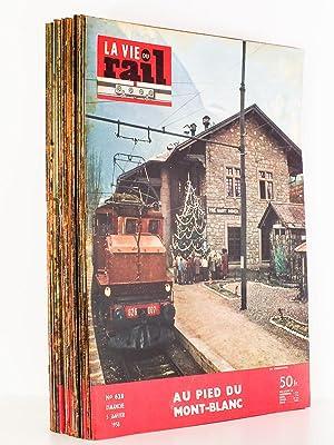 La Vie du Rail - Notre Métier, Notre Foyer, Année 1958 , Premier Semestre (complet - ...