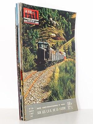 La Vie du Rail [ lot de 7 numéros avec des articles relatifs aux chemins de fer dans l'...