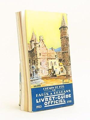 Chemin de fer de Paris à Orléans. Livret-Guide officiel. Edition de Mai 1933: ...