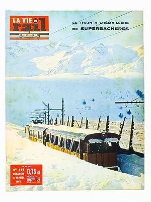 La Vie du Rail [ lot de 11 numéros avec des articles relatifs aux chemins de fer dans les ...