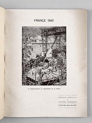 Le Sud-Ouest économique. Mars-Juin 1942 n° 321 à 324 : La France au travail.: ...