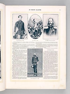 Le Monde Illustré. Second Semestre 1912 (Du n° 2884 du 6 Juillet 1912 au n° 2909 du ...