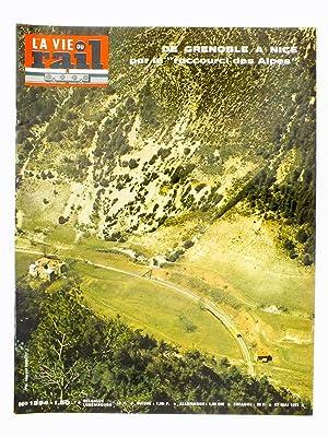 La Vie du Rail [ lot de 9 numéros avec des articles relatifs aux chemins de fer des Alpes ...