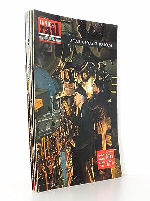 La Vie du Rail [ lot de 8 numéros avec des articles relatifs aux chemins de fer à ...