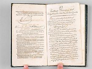 Autographies ou diverses lectures sur les trois règnes, les Gaz, les Eléments, etc.: ...