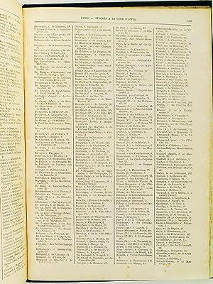 Agenda et Annuaire de la Magistrature, du Barreau, du Notariat, des Officiers Ministériels, ...