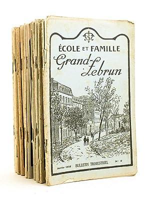 Ecole et Famille. Bulletin de l'Ecole Sainte-Marie Grand Lebrun. Bordeaux Caudéran [ ...