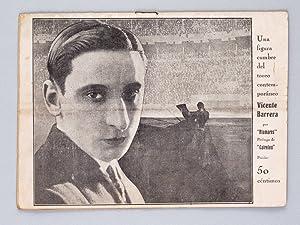 Une figura cumbre del toreo contemporaneo. Vicente Barrera.: ALAMARES, Angel Moises