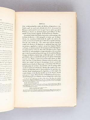 Histoire des Comtes de Poitou ( 778 - 1204 ) (2 Tomes - Complet) Tome I : 778 - 1126 ; Tome II : ...