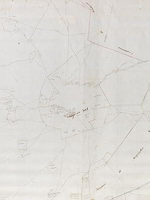 Plan de la partie Ouest de la Commune d'Illac [ Saint-Jean-d'Illac ] réduit de l&#...