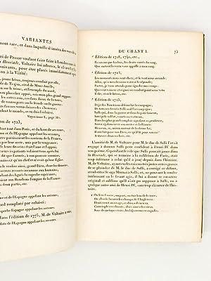 La Henriade (complet ) [ Oeuvres complètes de Voltaire, Tome X ( 10 ) ]: VOLTAIRE