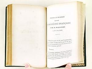 Tableau littéraire du dix-huitième siècle.: BARANTE, M. de