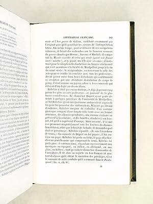 Histoire de la Littérature Française.: SAUCIE, D.