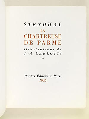 La Chartreuse de Parme (2 Tomes - Complet): STENDHAL