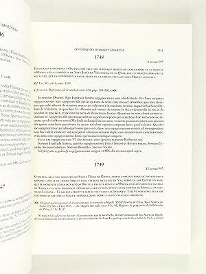 Catalunya Carolingia. Volum IV : Els comtats d'Osona I Manresa. Tercera Part : Diplomatari (...
