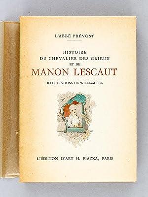 Histoire du Chevalier des Grieux et de Manon Lescaut.: PREVOST, L'Abbé ; FEL, William