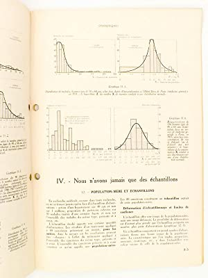 Notions pratiques de statistique à l'usage du corps médical ( Supplément ...