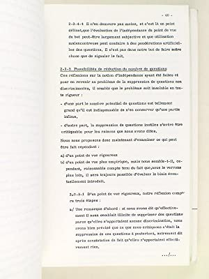 Recherche sur l'adéquation [ Sur l'histoire du Khi2 ] (2 Tomes - Complet) Avec une...