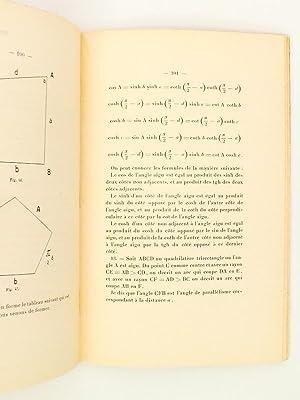 Introduction élémentaire à la géométrie Lobatschewskienne: TURC,...