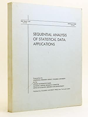 Sequential analysis of Statistical Data : Applications