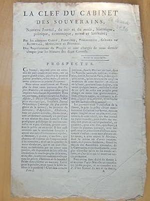 La Clef du Cabinet des Souverains, Nouveau Journal, du soir et du matin, historique, politique, &...