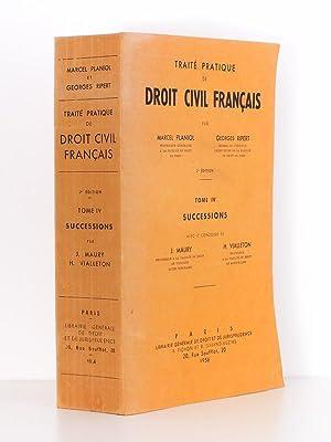 Traité pratique de droit civil français : PLANIOL, Marcel (dir.)