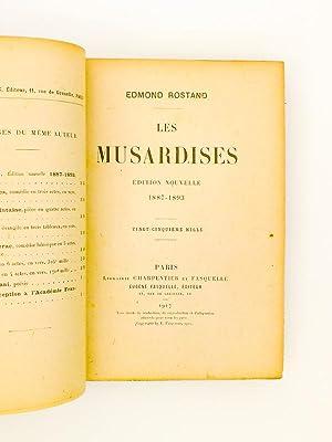 Lot de 2 titres en reliures assorties ) Les Musardises ; La Samaritaine, évangile en trois ...